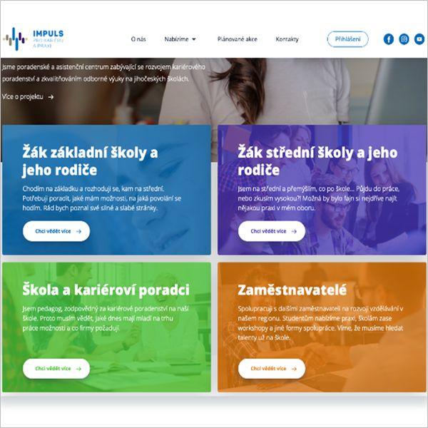 Webový portál impulsprokarieru.cz propojuje firmy se školami