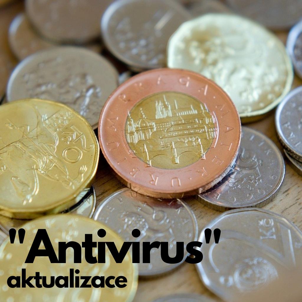Vláda schválila úpravu programu Antivirus – požádat o náhrady mezd a platů půjde plně elektronicky