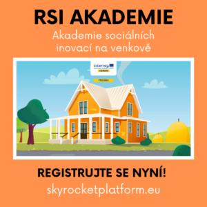 Akademie sociálních inovací na venkově pro podnikatele, zaměstnance i aktivní občany